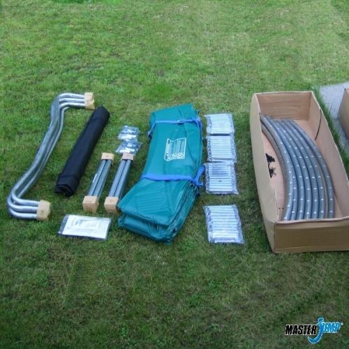 Nejlepší trampolína MasterJump Super 365 (366) cm, fitness trampolíny na zahradu