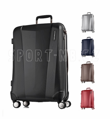 Extra lehký kufr na 4 kolečkách, skořepinové cestovní kufry na kolečkách odlehčené - VÝPRODEJ
