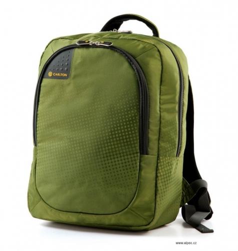 Cestovní batoh na notebook Carlton Tribe Backack Green, batohy na záda - AKCE