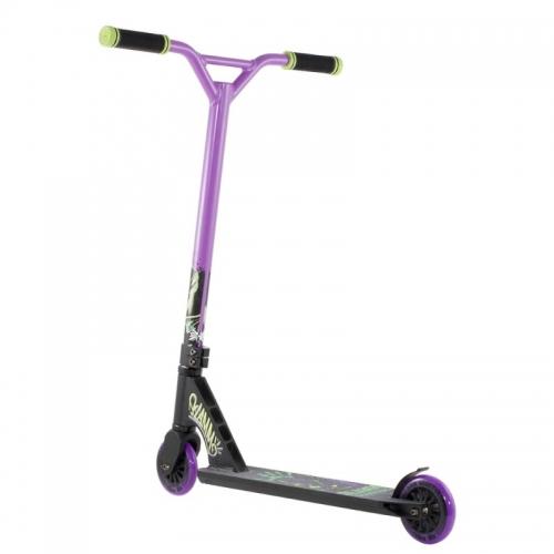Freestyle koloběžka Slamm Mischief V2 black/purple černá/fialová - VÝPRODEJ