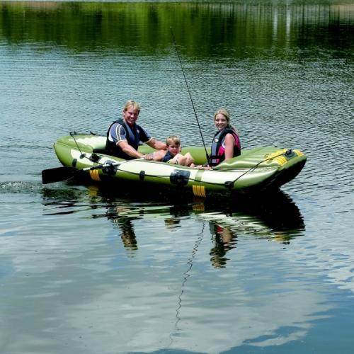 Nafukovací člun pro 3-4 osoby, rybářské i rekreační nafukovací čluny levně - AKCE