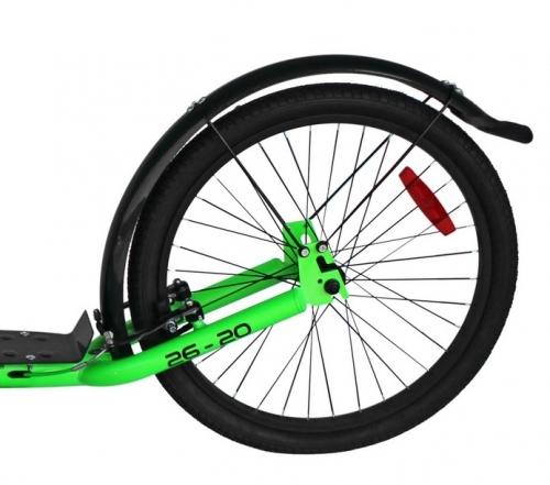 Velká koloběžka s nafukovacími koly pro dospělé a juniory, silniční nafukovací koloběžky - VÝPRODEJ