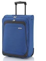Příruční kufřík do letadla na kolečkách, malý cestovní kabinový kufr 55 x 40 x 20 cm - AKCE