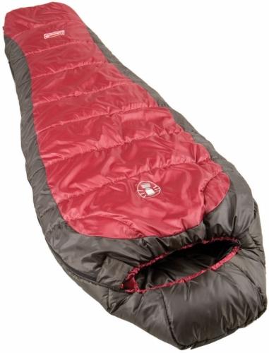 Dámský spacák mumie Coleman, teplé dámské spací pytle letní / třísezónní - VÝPRODEJ