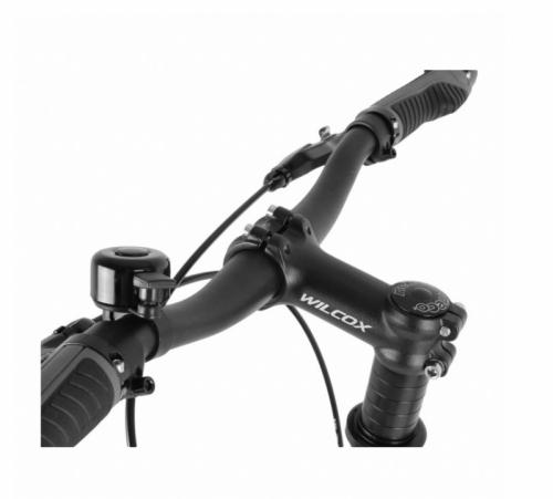 Velká silniční koloběžka Wilcox Tourer 26-20'' černo-červená, koloběžky pro dospělé - AKCE
