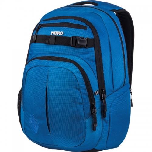 Městský street batoh Nitro Chase blur brill. blue/modrý