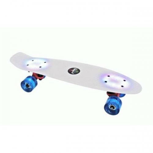 """Svítící skateboard / penny board Tempish Buffy Flash 22,5"""" s podsvícením - AKCE"""