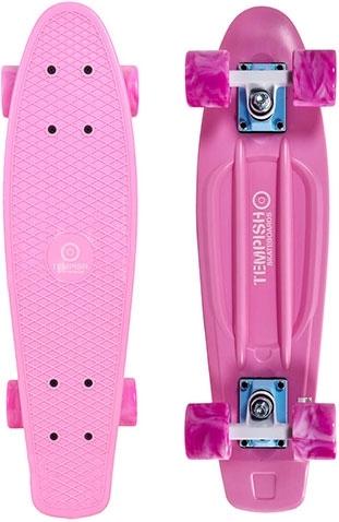 """Plastový dětský skateboard Tempish Buffy Sweet 22,5"""" pink / růžový - AKCE"""