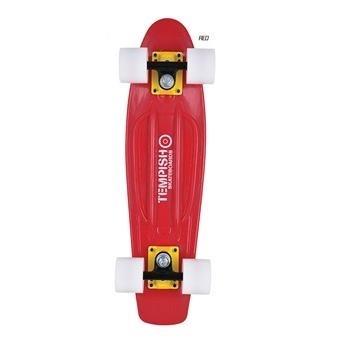 """Skateboard se svítícími kolečky Tempish Buffy Flash W 22"""" red - AKCE"""