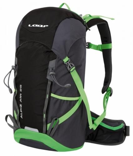Hikingový a turistický batoh Loap Alpiz Air 25 L black/green - AKCE