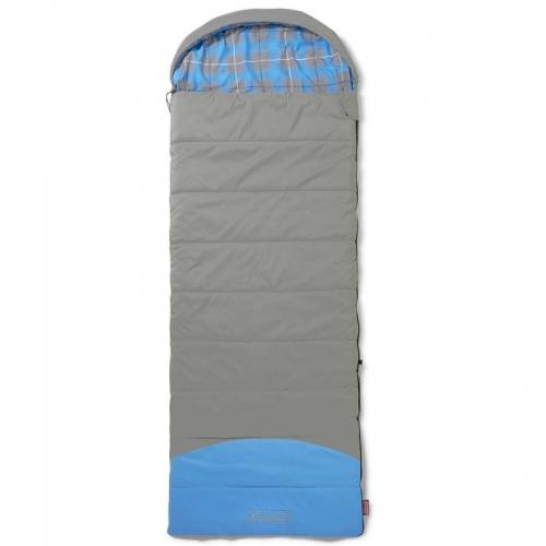Teplý prostorný dekový spací pytel Coleman Basalt Single, Komfort -3°C Extrem -28°C