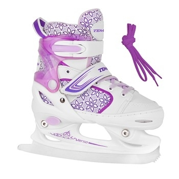 Dětské dívčí brusle na led Tempish RS Verso Ice girl purple / fialové