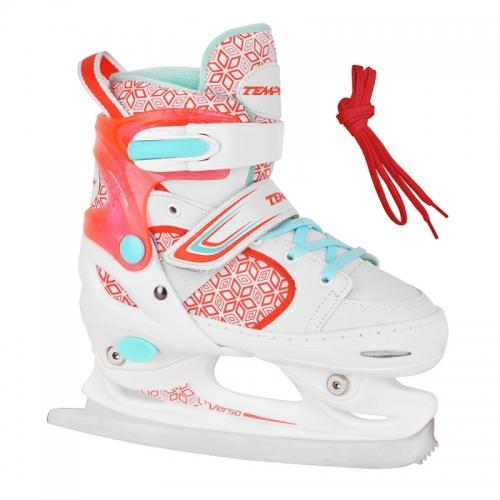 Dívčí nastavitelné lední brusle Tempish RS Verso Ice girl red / červené
