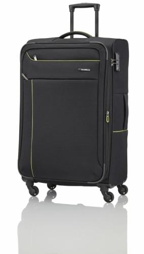 Velký textilní kufr na 4 kolečkách Travelite Solaris 77 cm s expandérem a zámkem TSA