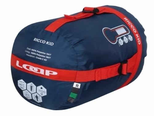 Dětský dekový spacák Loap kid -8 °C, prostorné dětské dekové spací pytle