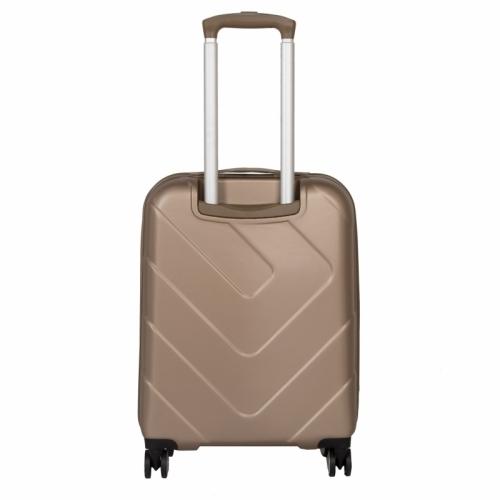 Palubní malý kufr na 4 kolečkách Travelite Kalisto skořepinový
