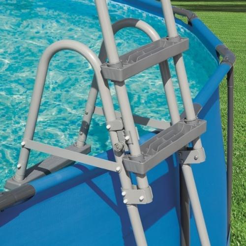 Bazénové schůdky 122 cm, schody k nafukovacím a nadzemním bazénům