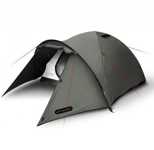 Turistický campingový stan Hannah, stany pro 3 osoby - VÝPRODEJ