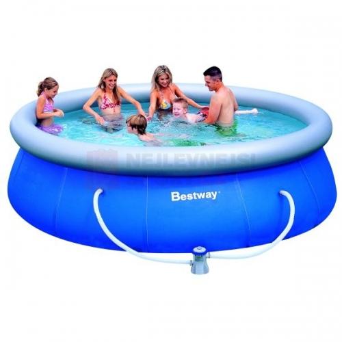 Kruhový nadzemní bazén 366 x 91 cm, dětské bazény levně, set s filtrací a doprava zdarma - AKCE