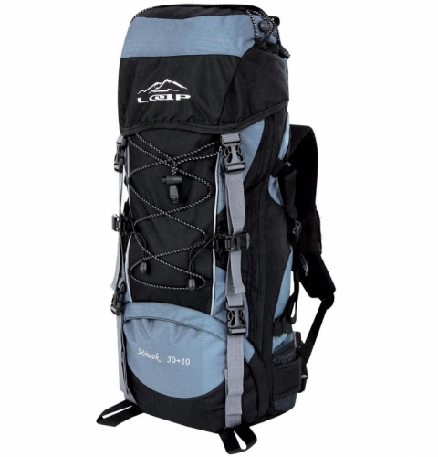 Turistický batoh Loap 60L (50+10L), turistické batohy na delší výlety a pobyty - VÝPRODEJ