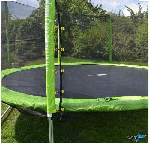 Venkovní zahradní trampolína s ochrannou sítí 366 cm - AKCE