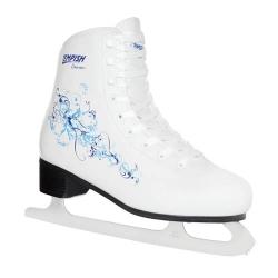 Dámské zimní brusle Tempish Dream bílé/modré, lední brusle pro ženy a dívky