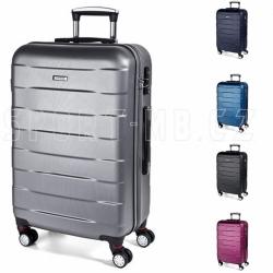 Velký kufr na kolečkách March Bumper, skořepinové cestovní kufry velké 110 L