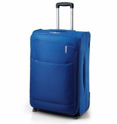 Textilní odolný kufr na 2 kolečkách Carlton, velká cestovní zavazadla do letadla se zamykáním