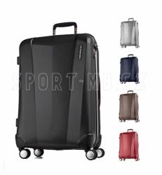 Lehké palubní zavazadlo 55 x 40 x 20 cm, příruční malý kufr March, odlehčené kufry na kolečkách