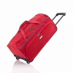 Cestovní taška s kolečky Travelite Derby 65 cm 77 L červená