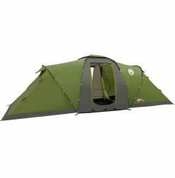 Velký campingový stan Coleman Bering 6, rodinné stany pro 4, 5, 6 osob, dvě ložnice