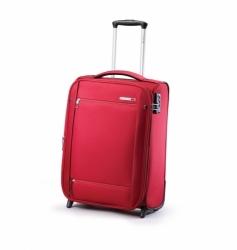 Ultralehký příruční kufr na kolečkách Carlton O2 55 cm červený, extra lehké palubní kufry