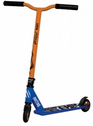 Freestyle koloběžka Bestial Wolf Demon Scooter blue/orange