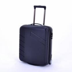 Kabinový malý cestovní kufr na dvou kolečkách Travelite Tourer černý, palubní kufry