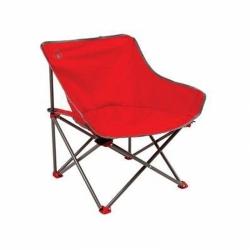 Skládací židle Coleman Kick-back red/červená, malé lehké campingové křesílko