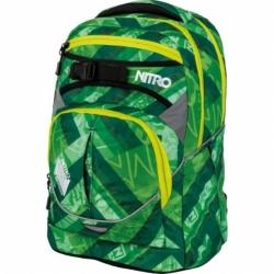 Školní batoh Nitro Superhero wicked green