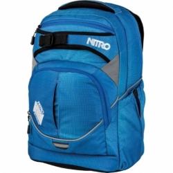 Školní batoh Nitro Superhero blur briliant blue