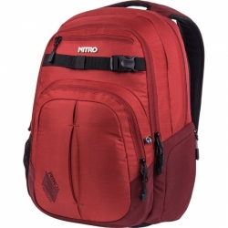 Městský a studentský batoh Nitro Chase chili/červený
