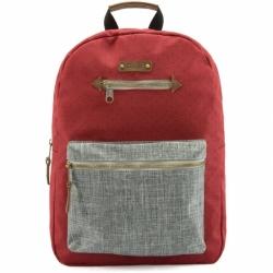 Menší městský dámský batoh G.RIDE Blanche red/grey