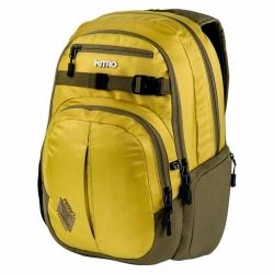 Městský batoh s kapsou na notebook Nitro Chase golden mud zlatá/žlutá