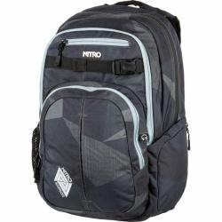 Batoh Nitro Chase Fragments black/černý, městské batohy nejen do školy
