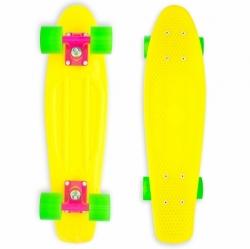 "Penny board Baby Miller Original fluor yellow 23"""