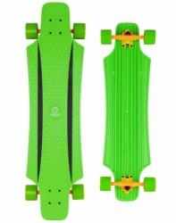 """Plastový longboard Tempish Buffy Green 36"""", velký skateboard 91 cm"""