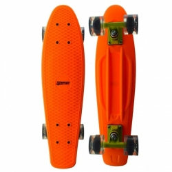 "Plastové skateboardy Tempish Buffy 22,5"" orange / oranžový"