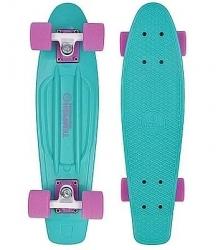 """Plastový juniorský skateboard Tempish Buffy 22,5"""" turqouise / tyrkysový"""