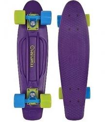 """Plastový skateboard Tempish Buffy 22,5"""" violet, plastový penny board pro děti"""