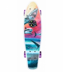 Pennyboard Maui Kicktail Cruiser Wave Predators 23,5""