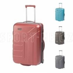 Cestovní kufr na kolečkách Travelite 64 cm TSA, skořepinové kufry na 2 kolečkách s expandérem