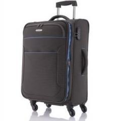 Velký textilní rozšiřitelný kufr na čtyřech kolečkách Travelite Derby 4w