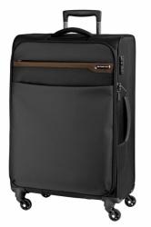 Textilní kufr na 4 kolečkách se zámkem TSA March Lite M 67 cm